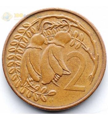 Новая Зеландия 1982 2 цента Кауваи (дерево)