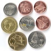 Токелау 2017 набор 8 монет Животные