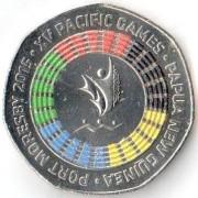 Папуа - Новая Гвинея 2015 50 тойя XV Тихо-океанические игры