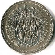 Новая Зеландия 1967 1 доллар