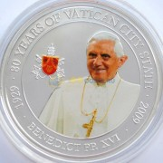 Палау 2009 1 доллар Папа Бенедикт XVI
