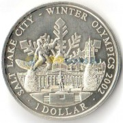 Острова Кука 2001 1 доллар Олимпийские игры