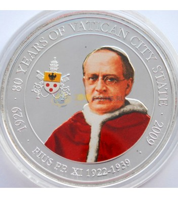 Палау 2009 1 доллар Папа Пий XI