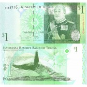 Тонга бона 1 паанга 2008