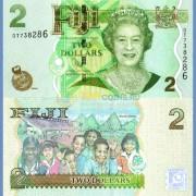 Фиджи бона 2 доллара 2012
