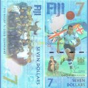 Фиджи бона 7 долларов 2016 Регби