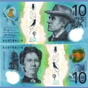 Австралия бона 10 долларов 2017