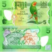 Фиджи бона 5 долларов 2012 (полимер)