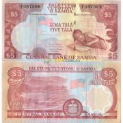 Самоа бона 5 тала 2002