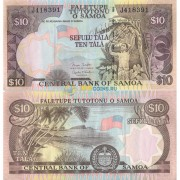 Самоа бона 10 тала 2002