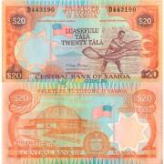 Самоа бона 20 тала 2002