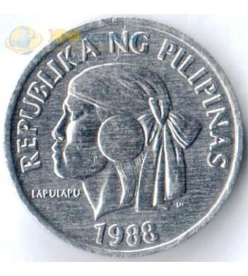 Филиппины 1983-1993 1 сентимо Лапу-Лапу