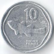 Филиппины 1983-1994 10 сентимо