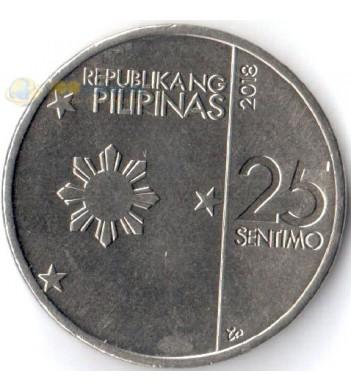 Филиппины 2017-2019 25 сентимо