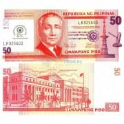 Филиппины бона 50 песо 2013 (юбилейная 216)