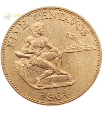 Филиппины 1964 5 сентаво