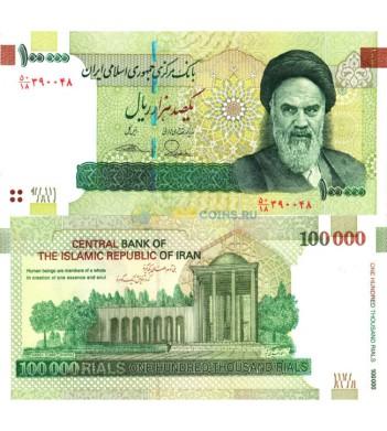 Иран бона (151) 100000 риалов 2010-2019