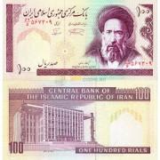 Иран бона (140f) 100 риалов 1985 (подпись 28)