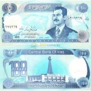 Ирак бона (084) 100 динаров 1994