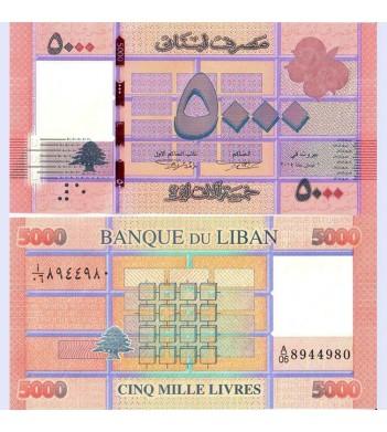 Ливан бона (091) 5000 ливров 2014