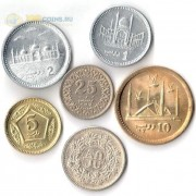 Пакистан 1991-2016 набор 6 монет