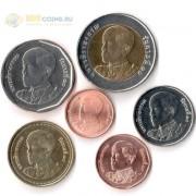 Таиланд набор 6 монет 2018 Рама X