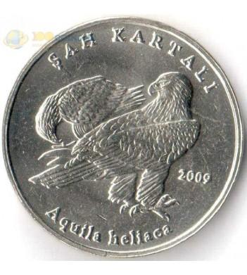 Турция 2009 1 лира Орел