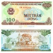 Вьетнам бона 100 донг 1991