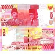 Индонезия бона 100000 рупий 2014