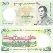 Бутан бона 100 нгултрум 2011