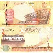 Бахрейн бона 1/2 динара 2006