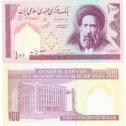 Иран бона (140g) 100 риалов 1985 (подпись 31)