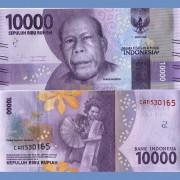 Индонезия бона 10000 рупий 2016