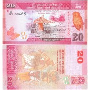 Шри-Ланка бона 20 рупий 2010
