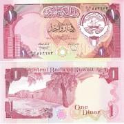 Кувейт бона 1 динар 1980-1991