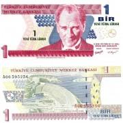 Турция бона 1 лира 2005