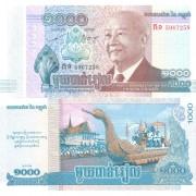 Камбоджа бона 1000 риель 2013