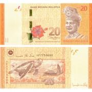 Малайзия бона 20 ринггит 2012
