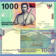 Индонезия бона 1000 рупий 2011