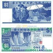 Сингапур бона 1 доллар 1987
