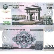 Северная Корея бона 500 вон 2008 100 лет Ким Ир Сену