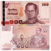 Таиланд бона 100 бат 2005