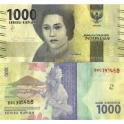 Индонезия бона 1000 рупий 2016