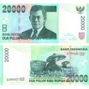 Индонезия бона 20000 рупий 2015