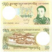 Бутан бона 20 нгултрум 2013