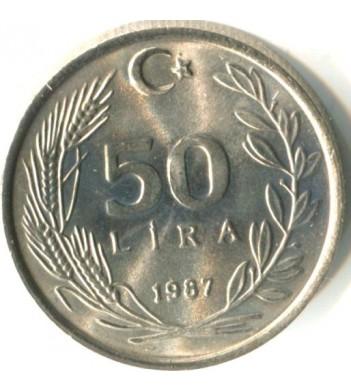 Турция 1984-1987 50 лир