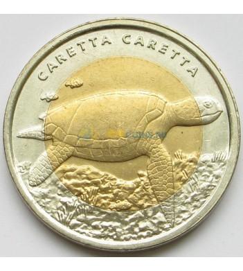 Турция 2009 1 лира Черепаха