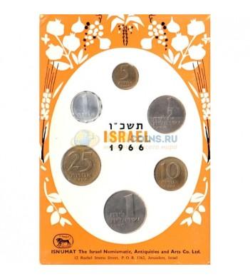 Израиль 1966 годовой набор 6 монет