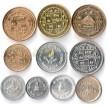 Непал набор 10 монет