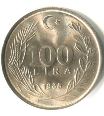 Турция 1984-1988 100 лир